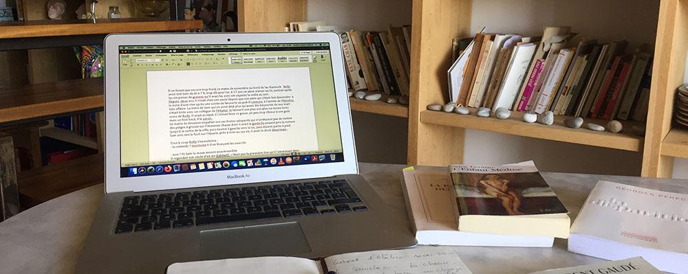 Ateliers d'écriture à distance en visio-conférence ou par mail